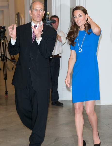 Kate Middleton accepte de porter des vêtements flashy