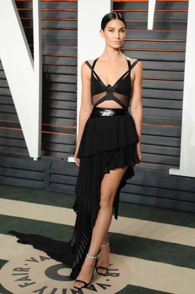 Défilé Victoria's Secret à Paris : Lily Aldridge