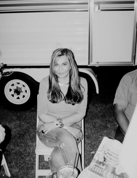 Mais qui se détend backstage péperlito ? C'est leur maman, Tina