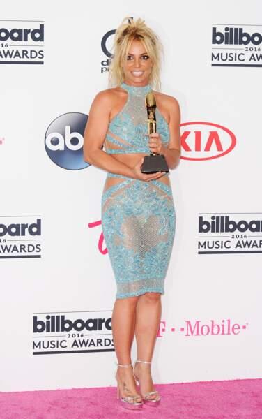 Billboard Music Awards 2016: Britney Spears en Charbel Zoe