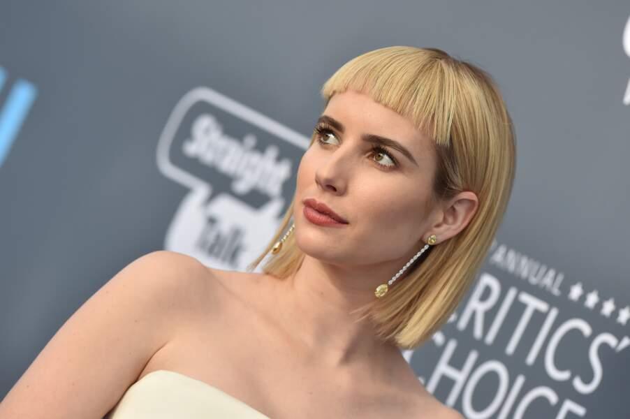 DON'T : Emma Roberts et son carré à frange courte