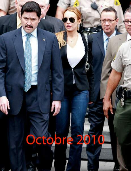 Lindsay Lohan octobre 2010