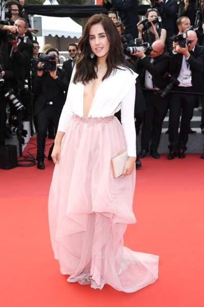 Cannes - Montée des Marches pour le 70ème anniversaire : Patry Jordan