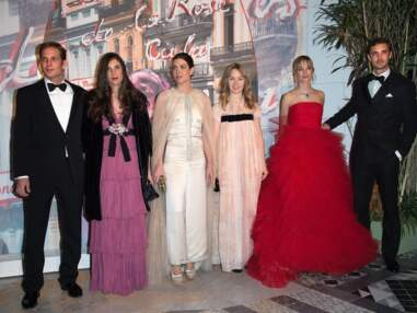 La famille princière presque au complet le 62ème Bal de la Rose