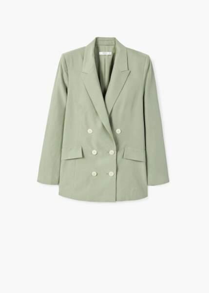 Veste de costume, Mango, 41,99€ au lieu de 69,99€