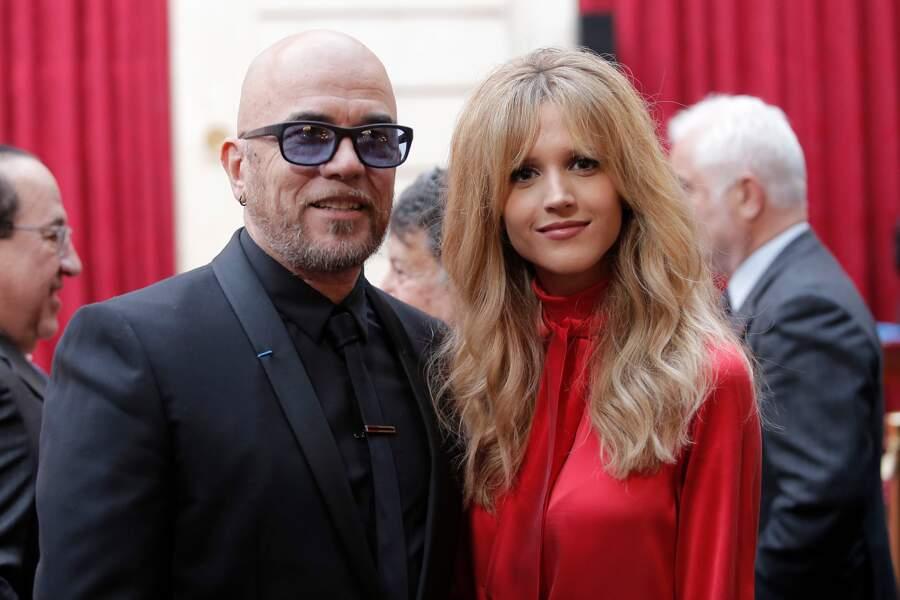 Line Renaud décorée : Pascal Obispo et Julie Hantson