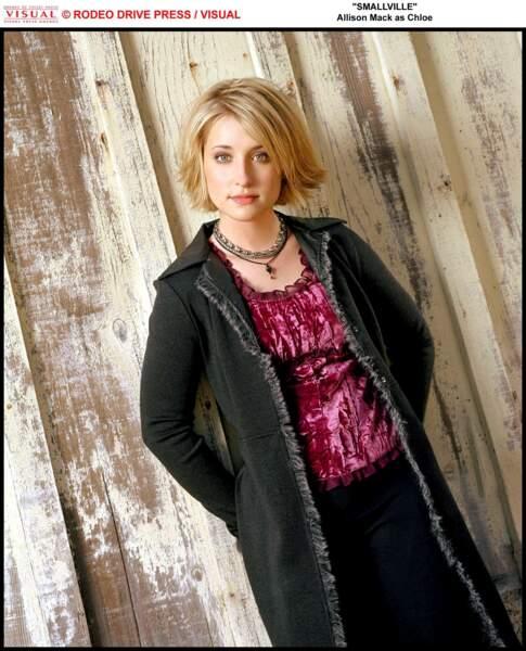 Allison Mack incarnait Chloe Sullivan