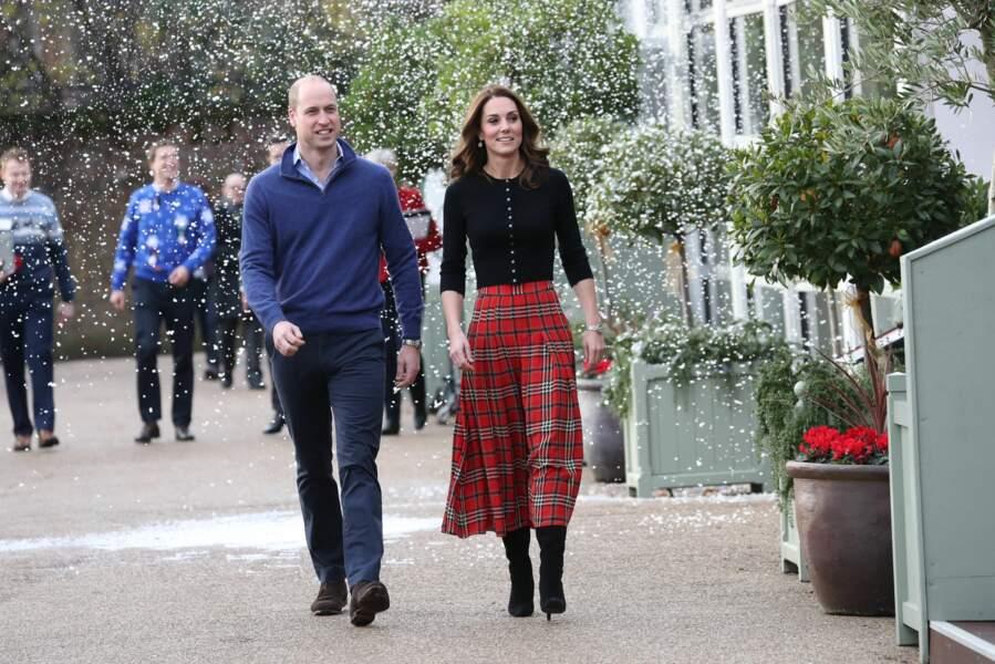 Kate et William s'émerveillent face à ce spectacle