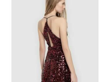 Robes de soirées : 5 robes glitter rouges à moins de 100€