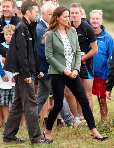 Kate Middleton le 30 août 2013