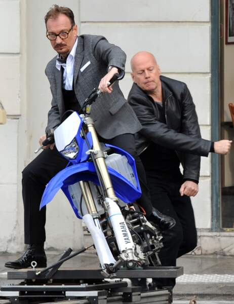 David Thewlis et Bruce Willis