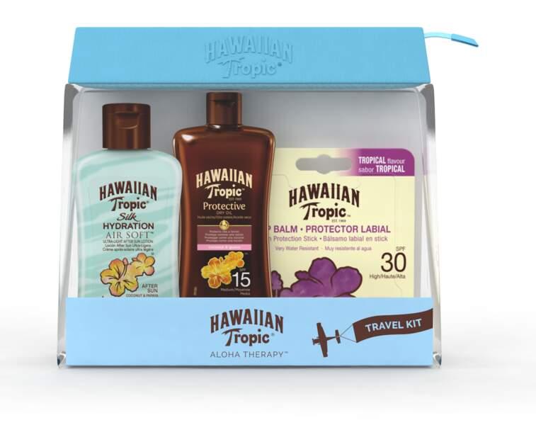 Travel Kit solaires. Hawaiian Tropic, 14,90 €
