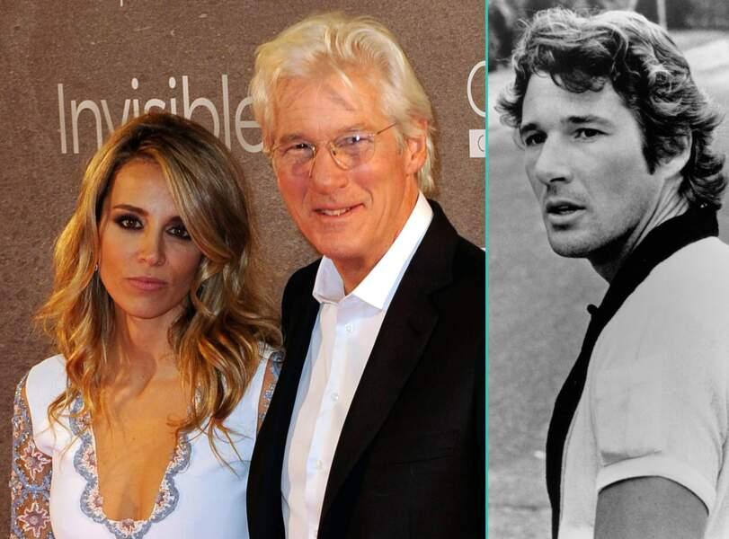 Richard Gere aujourd'hui à 66 ans et à 32 ans, l'âge actuel de sa compagne Alejandra Silva