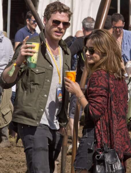 Richard Madden était avec sa petite amie, Jenna-Louise Coleman