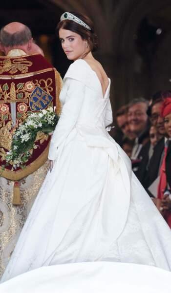 La mariée, la princesse Eugenie