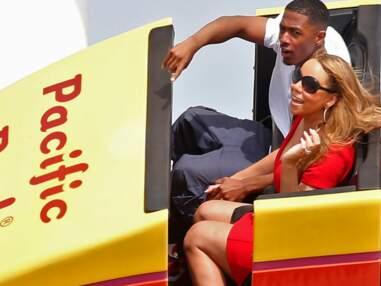Mariah Carey s'éclate en famille dans un parc d'attraction
