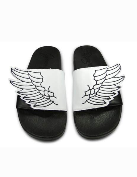 Claquettes Adidas x Jeremy Scott