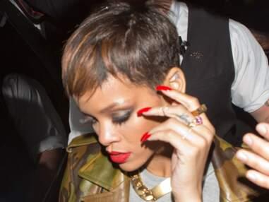 Rihanna revient à une coupe courte