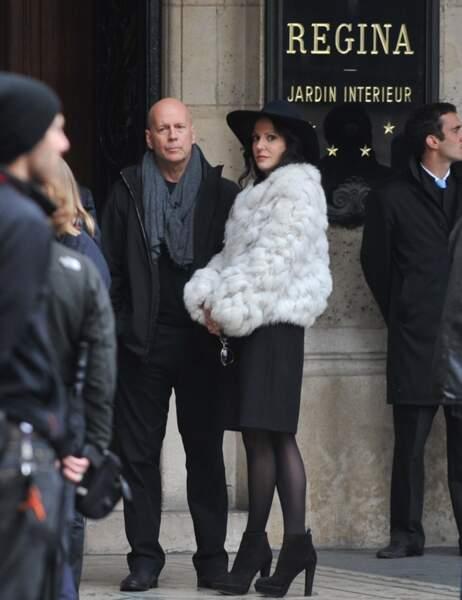 Bruce Willis et Mary-Louise Parker