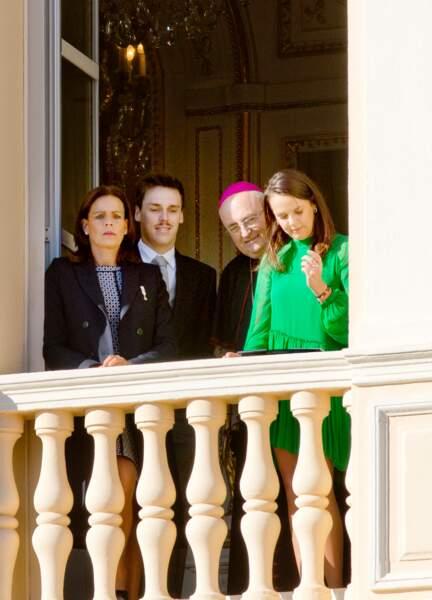 Fête nationale à Monaco - Stéphanie de Monaco, Louis Ducruet et Pauline Ducruet