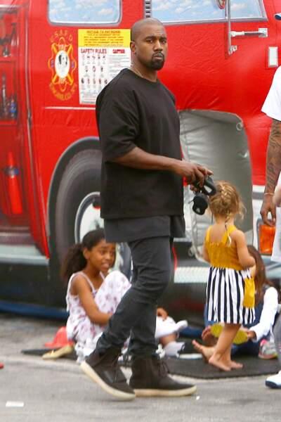 Kanye West est là aussi