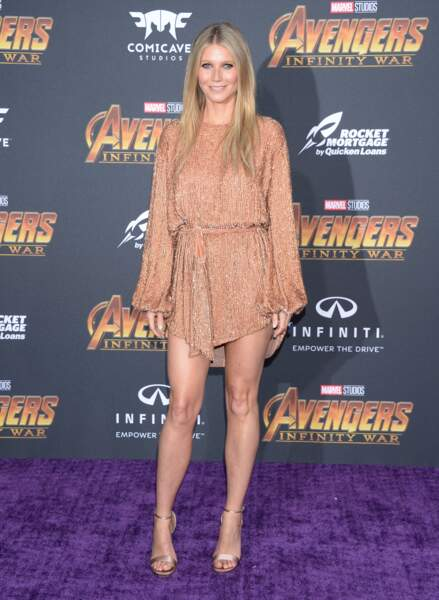 Première mondiale d'Avengers: Infinity War - Gwyneth Paltrow