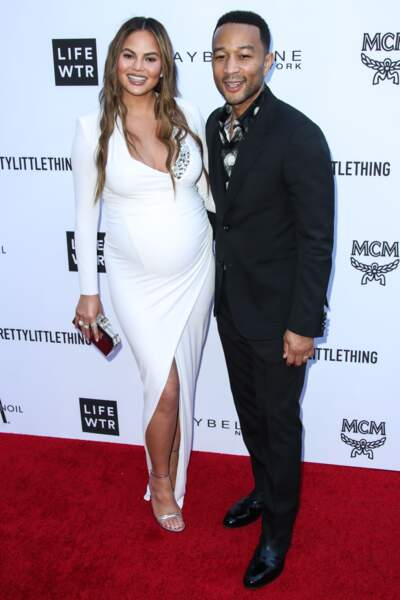 The Daily Front Row's Fashion Awards : Chrissy Teigen et John Legend
