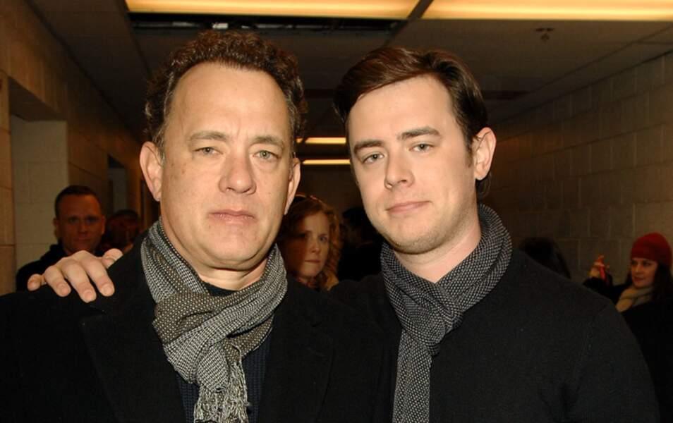 Tom Hanks et son fils Colin