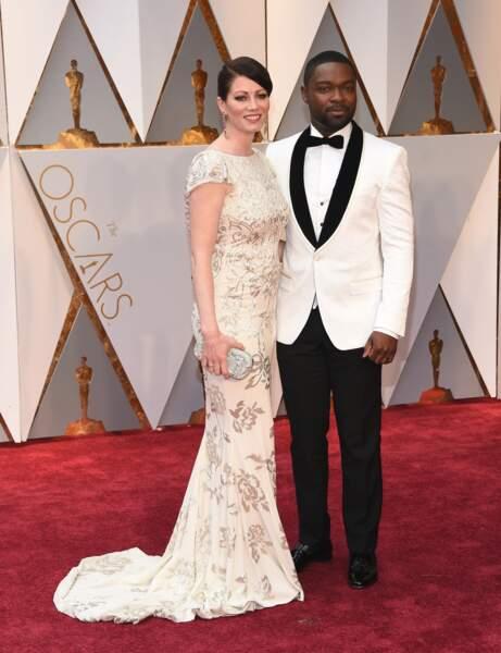 Les plus beaux couples des Oscars 2017 : David Oyelowo et son épouse Jessica