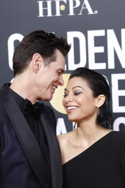 76ème cérémonie des Golden Globes : Jim Carrey et Ginger Gonzaga