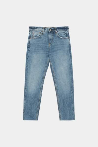 Jean premium coupe cigarette, Zara, 49,95€