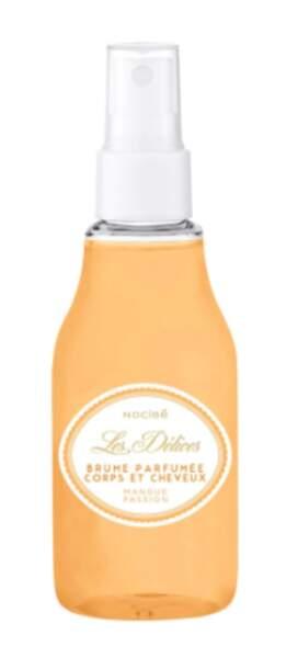 Brume parfumée corps et cheveux Mangue Passion, Les Délices by Nicibé, 4,95€
