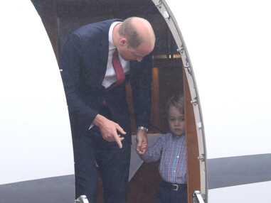 Le prince George fait la tête lors d'une visite officielle et c'est drôle