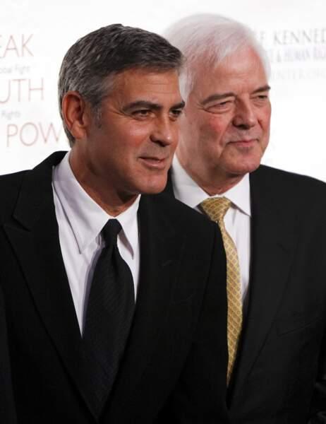 George Clooney et son papa