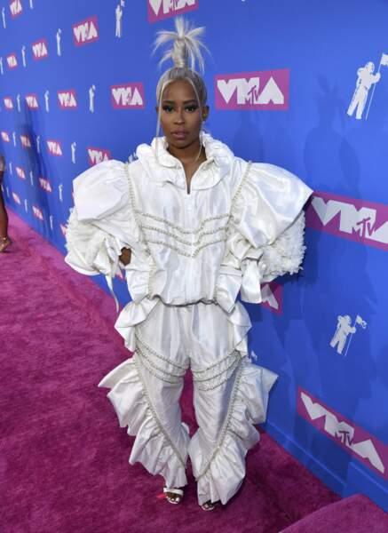 Dej Loaf aux MTV Video Music Awards 2018, le 20 août, à New York