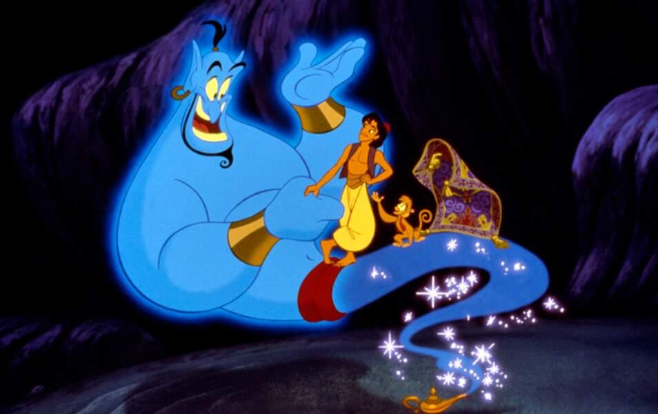 Il incarne la voix du génie dans la version américaine d'Aladdin de Walt Disney en 1992
