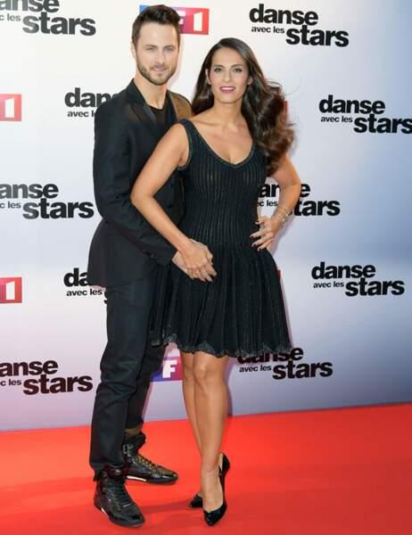 La chanteuse et actrice Elisa Tovati et Christian Millette