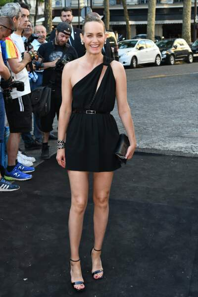 Dîner Vogue : Amber Valletta