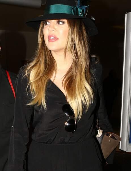 Perte de poids de stars : Khloé Kardashian avant