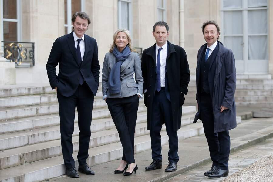 Line Renaud décorée : François Baroin, Claire Chazal, Marc-Olivier Fogiel, Stéphane Bern