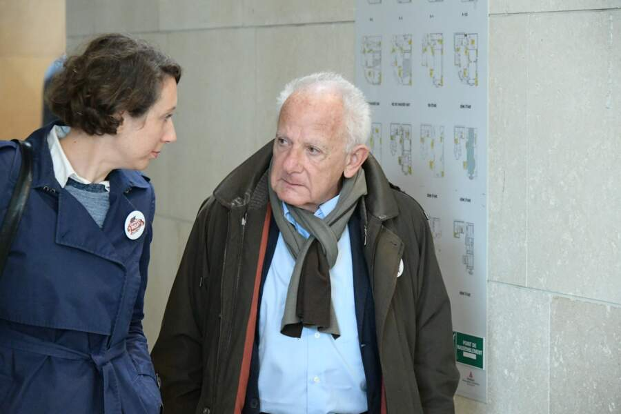 Marin Karmitz à l'hommage à Agnès Varda