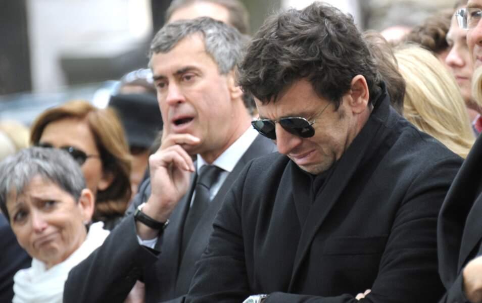 Jérôme Cahuzac, à ses côtés, est également très affecté