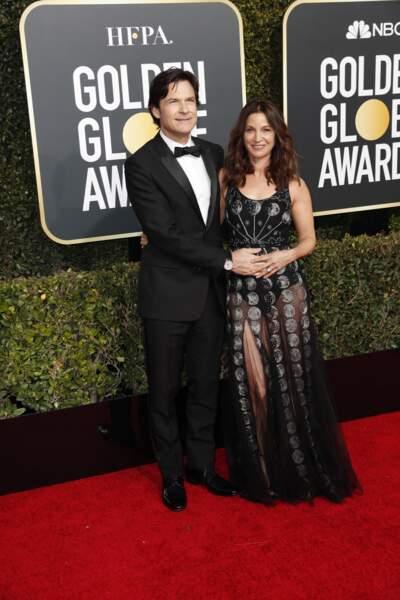 76ème cérémonie des Golden Globes : Jason Bateman et sa compagne