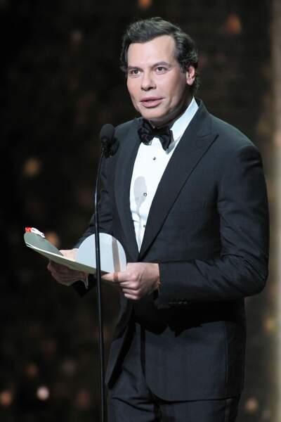 Laurent Lafitte lors de la 44e cérémonie des César