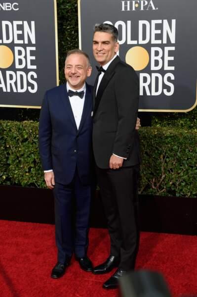 76ème cérémonie des Golden Globes : Marc Shaiman et Louis Mirabal