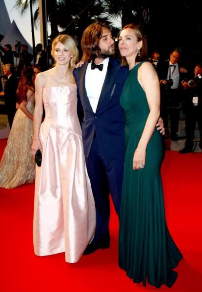 Masha et Dimitri Rassam et Carole Bouquet