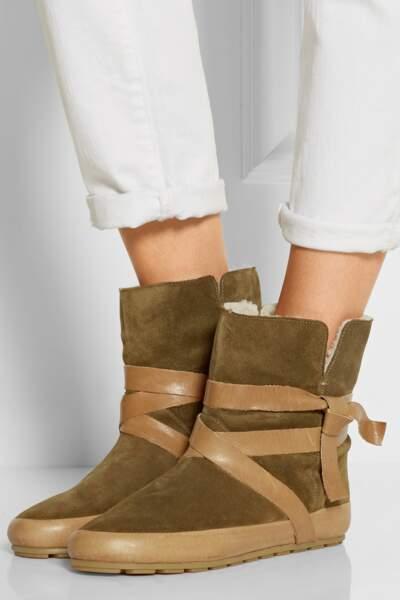 Boots ISABEL MARANT (soldées 132€ au lieu de 440€) sur Net-A-Porter