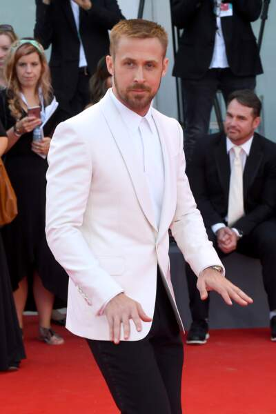 Ryan Gosling à la 75e Mostra de Venise, le 29 août 2018