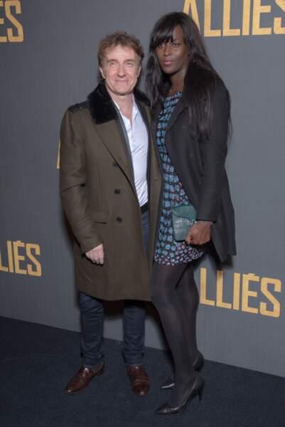 Thierry Frémont et son épouse, Gina
