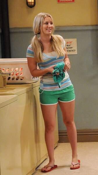 Penny, la voisine est jouée par Kaley Cuoco